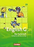 English G 21 - Ausgabe D: Band 1: 5. Schuljahr - Das Ferienheft: Holiday fun with Alice and Max. Arbeitsheft