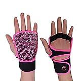 BIKINGMOREOK Gym Fitness Handschuhe Anti-Rutsch Crossfit Workout Handschuhe Yoga Bodybuilding Laufen...
