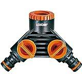 Claber d85980000–Connexion Prise Double GardenLife