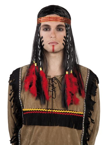 Boland 86414 - Perücke Indian Cheveyo mit ()