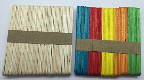 sortiert Lolly Craft Sticks-Kunst und Handwerk Supplies ()