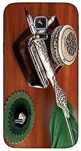 Timpax protective Armor Hard Bumper Back Case Cover. Multicolor printed on 3 Dimensional case with latest & finest graphic design art. Compatible with Samsung Galaxy S-5-Mini Design No : TDZ-27402