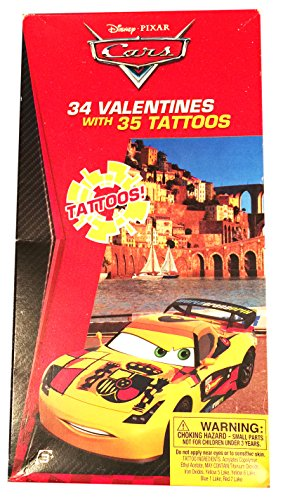 lentines with Tattoos (34) by Cars (Pixar Tattoo)