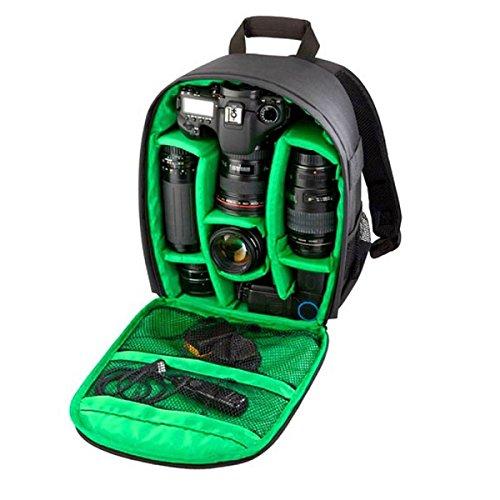 Tongshi Mochila 1PC bolso de la cámara réflex digital Caso impermeable para Canon para Nikon...
