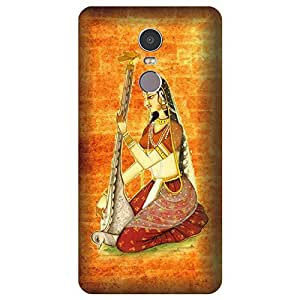 Skintice Designer Back Cover with direct 3D sublimation printing for Lenovo Vibe K6 Note