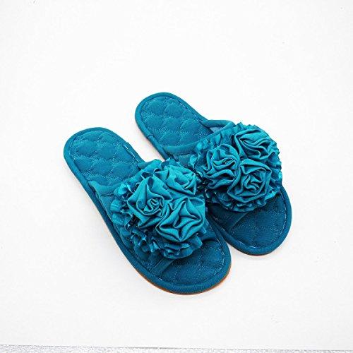 Antiscivolo Legno Pantofole Casa Fashion Fondo Primavera Guang Blu Entro Verde Pantofole Di Pantofole Ladies A Xing Tendine Estate Pavimento xqP4naI6w