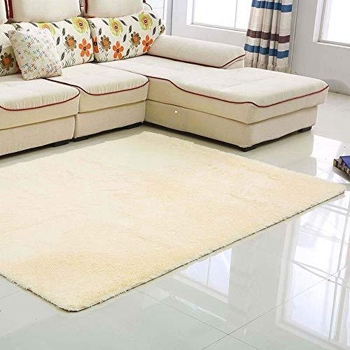 Enkoo mesa centro alfombra moderna simple terciopelo