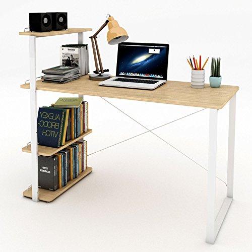 Lifewit scrivania per computer scrivania tavolo porta pc for Scrivanie per studio in casa