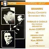 Brahms: Double Concerto, Symphony 4