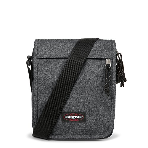 Eastpak Flex Schultertasche Black Denim (Collection-leder-kleiner Messenger)