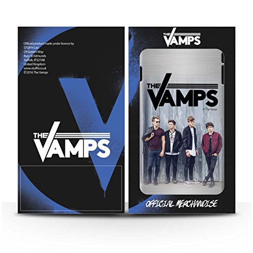 Officiel The Vamps Coque / Clipser Matte Etui pour Apple iPhone 5C / Pack 6pcs Design / The Vamps Séance Photo Collection Brossé