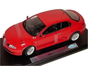 Welly Alfa Romeo Gt Coupe Rouge Modèle En Métal 1/18 Welly Voiture Modèle