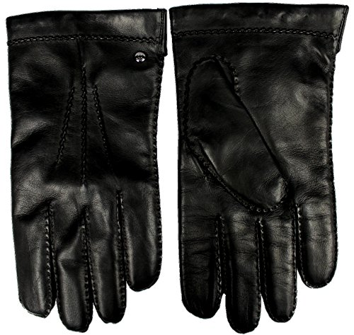 Bogner Leder Handschuhe 'Gregor' (9, 026 Schwarz)