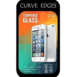 Go Crazzy Anti Explosion 0.4mm 2.5D 9H Ultra thin Curve Edges Tempered Glass Screen Protector for MICROMAX CANVAS Xpress A99