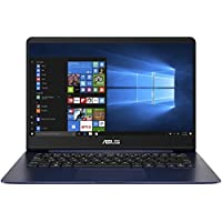 "Asus ZenBook UX430UQ-GV019T Notebook, Display da 14"" Full HD, Processore Intel Core i7-7500U, 2.7 GHz, RAM da 8 GB, SSD da 512 GB, nVidia GTX 940MX, 2 GB, Blu"