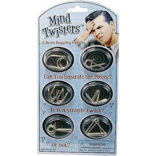 Westminster Mind Twisters 6pk colori e stili possono variare