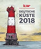 Ole West - Deutsche Küste 2018: Postkartenkalender zum Aufhängen und Aufstellen