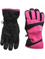 Salomon Electre - Guantes de esquí para niña, color rosa, talla S