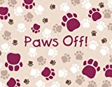 Paws Off! Giant Pet Place Mat