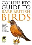 Front cover for the book Collins BTO Guide to Rare British Birds by Paul Sterry