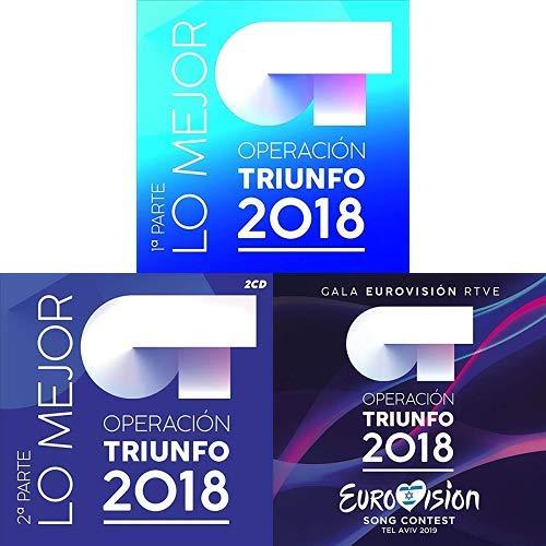 Pack Operación Triunfo 2018: Lo mejor 1º y 2º parte + Operación Triunfo 2018: OT Eurovisión RTV