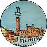 Piazza del campo a Siena-Piatto
