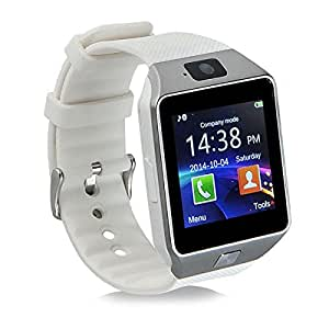 Mavv MVV DZ09 Smartwatch / Digital Smartwatch / WatchPhone Compatible With Huawei M920 Mobiles - White