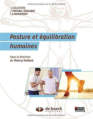 Posture et équilibration humaines par Thierry Paillard