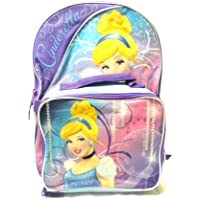 Preisvergleich für Disney Cinderella 16 Backpack with Matching Lunch Bag by Disney