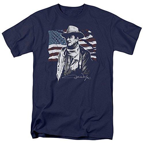 john-wayne-american-idol-t-shirt-pour-hommes-large-navy