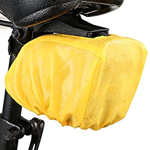 ONEU Bicicletas Bolsa Impermeable Bolsa sillín Alforjas Liberación rápida Bolso de Bici MiNi Bolsa sillín Para el ciclismo MTB Deporte al Aire libre