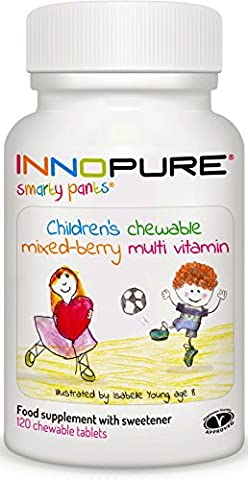 SmartyPants Children's MultiVitamin 120 Chewable Tablets, Mixed Berry Flavour | Innopure