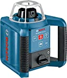 Bosch Professional GRL 300 HV, 300 m Arbeitsbereich mit Empfänger, Fernbedienung, Transportkoffer, Empfänger, Wandhalter