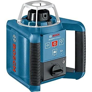 Bosch Professional GRL 300 HV SET: Laser rotatif GRL 300 HV  + telecommande + support + lunette + coffret