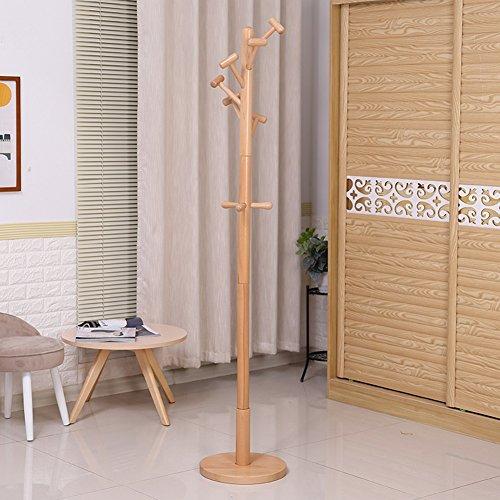Garderobenständer Garderobe-Boden-Aufhänger-Schlafzimmer-Kleiderständer Einstab...