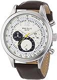 Mike Ellis New York Herren-Armbanduhr XL Chronograph Quarz Leder SL4-60226A