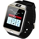 Stoga Bluetooth Watch Phone EK-012 Wireless Bluetooth Smart Wrist Watch Sim Insert Anti-lost Call Reminder Phone Mate (Black)