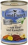 LandFleisch | Senior Rind und Kartoffeln | 12 x 400 g