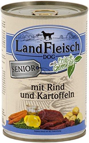 LandFleisch   Senior Rind und Kartoffeln   12 x 400 g