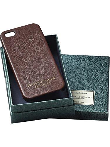 Scotch & Soda 14040877141 Coque de téléphone portable pour homme Braun (rust 33)