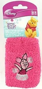 Rosa Fluffy Ferkel Disney Winnie The Pooh Universell Socke Case Cover Tasche Hülle Schutzhülle Geeignet für Blackberry 9790 Bold