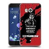 Head Case Designs Offizielle AMC The Walking Dead Ricktatorship Typografie Ruckseite Hülle für HTC U11/Dual