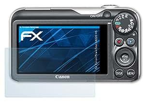 3 x atFoliX Displayschutzfolie Canon PowerShot SX220 HS Schutzfolie - FX-Clear kristallklar