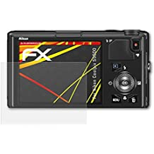 atFoliX Protector Film for Nikon Coolpix S9500 Screen Protection Film - 3 x FX-Antireflex-HD High-resolution anti-reflective Screen Protector