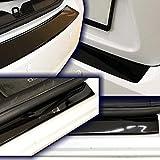 Pellicola protettiva per paraurti e battitacco, nero lucido, per auto, 10110-2014