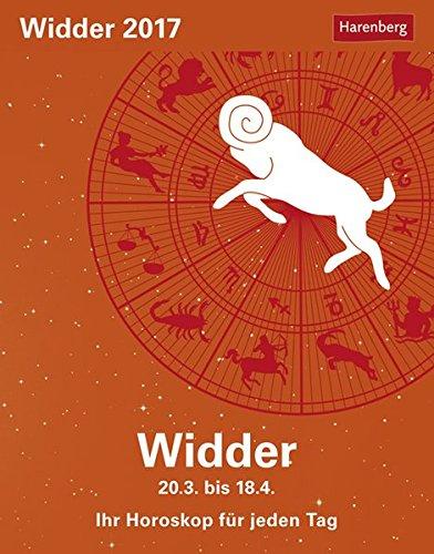 Widder - Kalender 2017: Ihr Horoskop für jeden Tag
