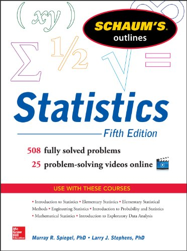 Schaum's Outline of Statistics, 5th Edition (Schaum's Outlines)