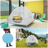 ProBache - Moustiquaire dôme pop-up grandes dimensions 195x180 cm mobile pour lit