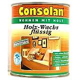 Consolan Holz-Wachs flüssig 0,75 Liter seidenmatt