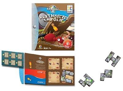 Smart Games - SGT 230 FR - Jeu de Société - Les Insectes en Folie